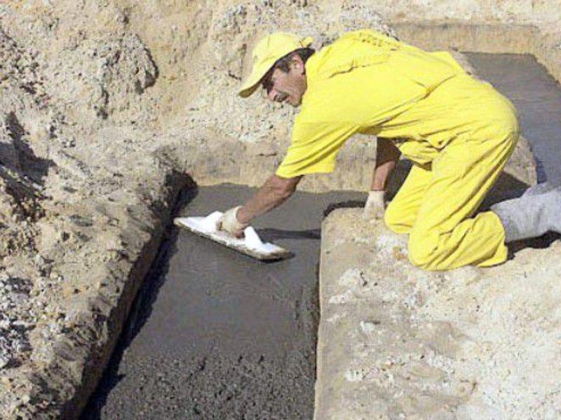 бетон для фундамента дома