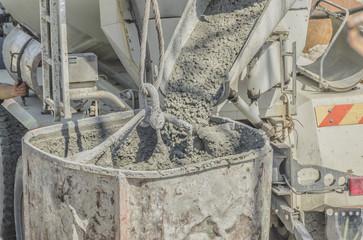 Дотавка бетона в Коломне